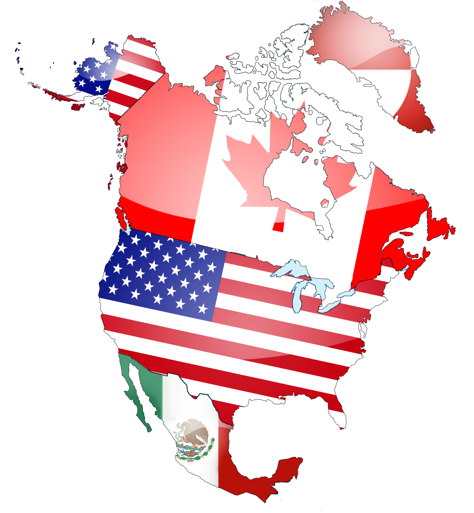 Border Wait Times For Carriers Loadboardcom Map Of Us Canada Border Crossing Locations